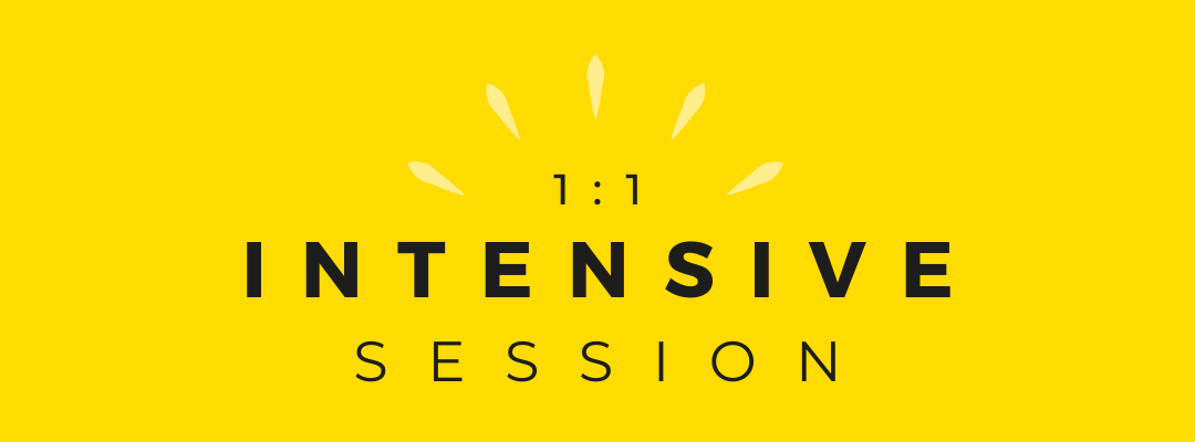 1:1 Intensive Session