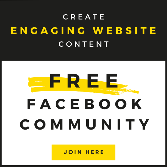 Join my FREE Facebook Community